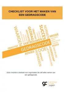 Gedragscode checklist