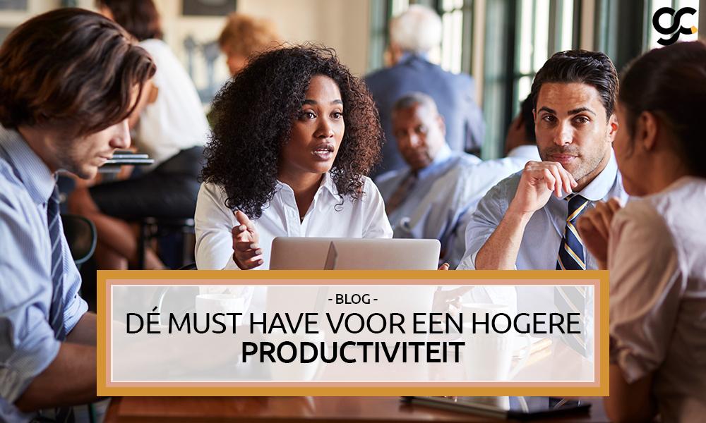 Wat heeft keiharde impact op productiviteit en wordt toch niet zo gezien?