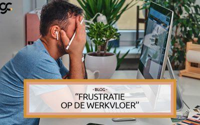 Frustratie op de werkvloer